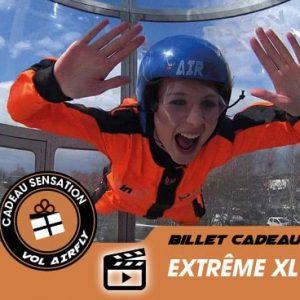 Billet cadeau soufflerie ExtremeXL