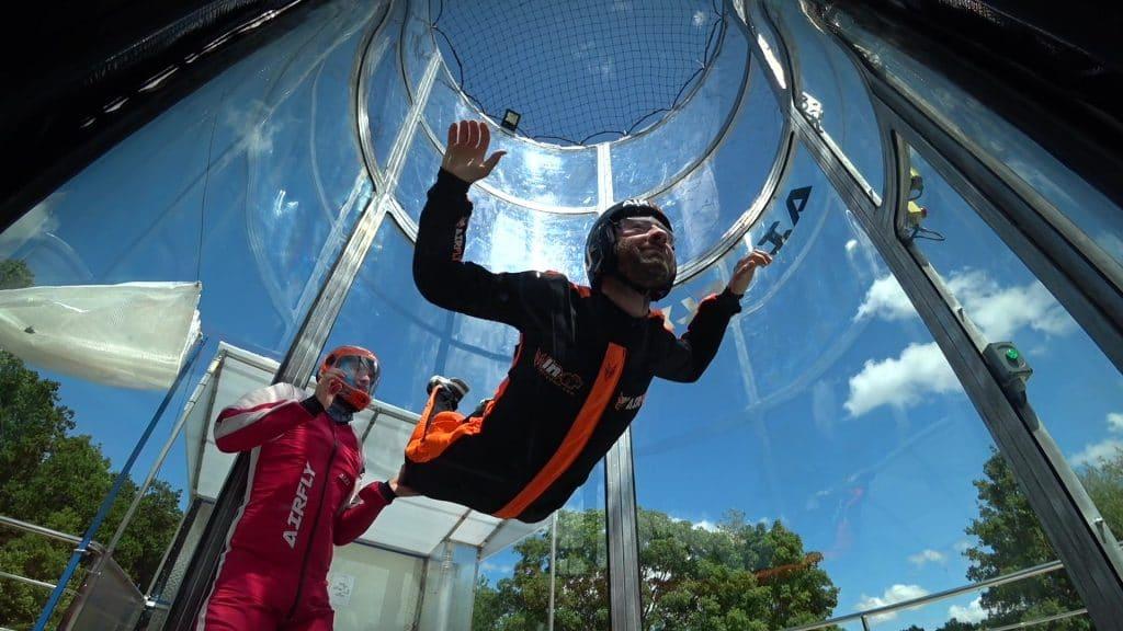 Caen simulateur de chute libre