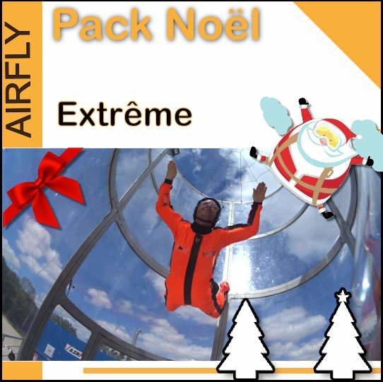 Chèque cadeau soufflerie Extrême Noel