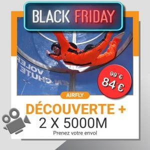 billet cadeau soufflerie Black Friday Airfly