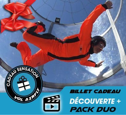 Pack DUO DEC+ airfly simulateur de chute libre