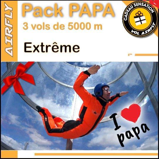 Pack cadeau extrême AIRFLY fête des Pères