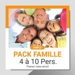 Soufflerie pack famille/groupe de 4 à 10 personnes
