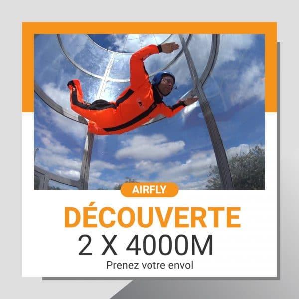 Billet cadeau soufflerie Normandie Airfly Découverte