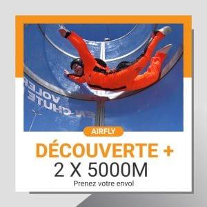 Billet cadeau soufflerie Airfly DECOUVERTE+