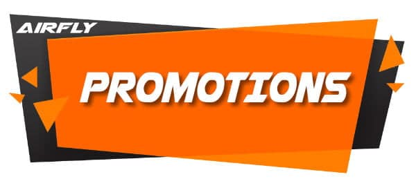 Promotions soufflerie Airfly