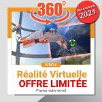 Vol en soufflerie en réalité Virtuelle Airfly