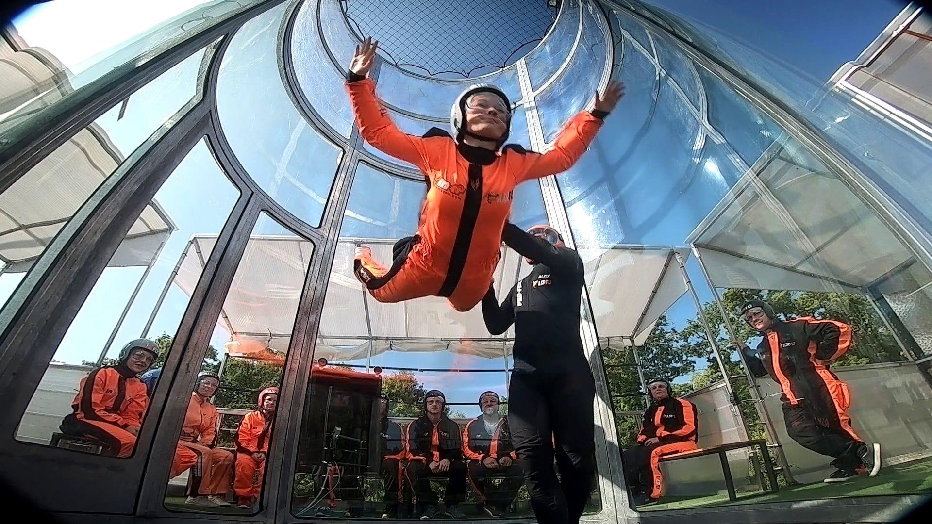 Simulateur de parachute Normandie